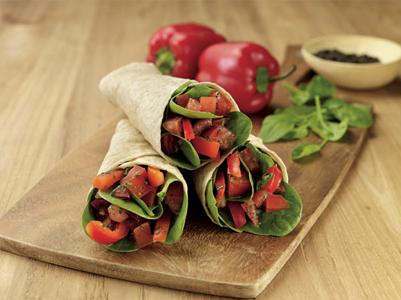 Garden Vegetable Wrap